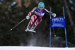 10.02.2011, Kandahar, Garmisch Partenkirchen, GER, FIS Alpin Ski WM 2011, GAP, Herren Abfahrtstraining, im Bild Ted Ligety (USA) takes to the air competing in the first men's downhill training run on the Kandahar race piste at the 2011 Alpine skiing World Championships, EXPA Pictures © 2011, PhotoCredit: EXPA/ M. Gunn