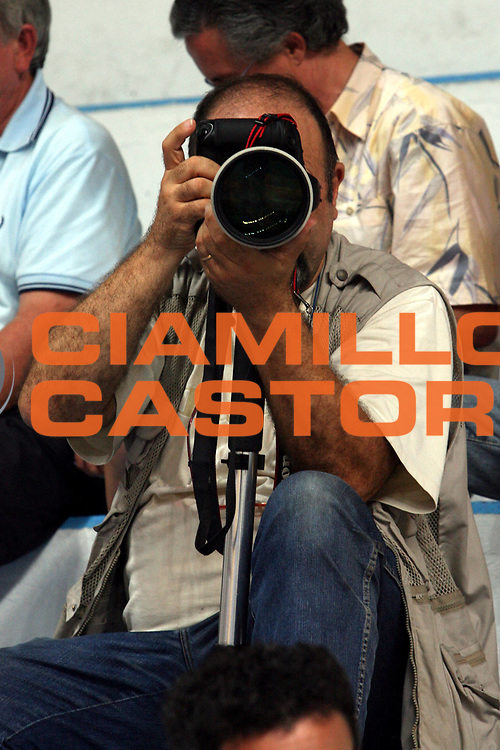 DESCRIZIONE : Roseto Precampionato Lega A1 2006 2007 Trofeo Lido delle Rose Climamio Fortitudo Bologna Maccabi Tel Aviv<br />GIOCATORE : Ciamillo<br />SQUADRA : <br />EVENTO : Precampionato Lega A1 2006 2007 Trofeo Lido delle Rose Climamio Fortitudo Bologna Maccabi Tel Aviv<br />GARA : Climamio Fortitudo Bologna Maccabi Tel Aviv<br />DATA : 29/09/2006<br />CATEGORIA : Ritratto<br />SPORT : Pallacanestro<br />AUTORE : Agenzia Ciamillo-Castoria/M.Carrelli