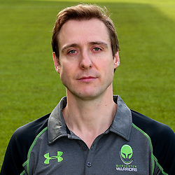 Alex McCall - Mandatory by-line: Robbie Stephenson/JMP - 25/08/2017 - RUGBY - Sixways Stadium - Worcester, England - Worcester Warriors Headshots