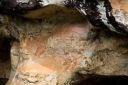 Sao Goncalo do Rio Preto_MG, Brasil...Pintura rupestre no Parque Estadual do Rio Preto...The rehistoric rock painting in Parque Estadual do Rio Preto...Foto: LEO DRUMOND / NITRO