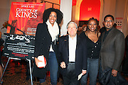 l to r: Sarah Jones, Brooklyn Borough President Marty Markowitz, Lisa Cortez and Jayson Jackson at The Opening for Spike Lee's theater production of  ' County of Kings' held at The Publc Theater on October  12, 2009