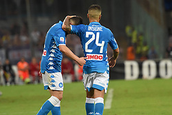 September 15, 2018 - Naples, Naples, Italy - Lorenzo Insigne of SSC Napoli during the Serie A TIM match between SSC Napoli and ACF Fiorentina at Stadio San Paolo Naples Italy on 15 September 2018. (Credit Image: © Franco Romano/NurPhoto/ZUMA Press)