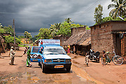 A mobile legal aid clinic visits a rural slum in the Orissa district of India. The Legal Aid Clinic run by the organisation CLAP, Committee for Legal Aid to Poor (CLAP) is a non-profit organisation helping to provide legal aid to the poorer communities in the Orissa district of India.