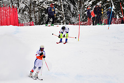 Super Combined and Super G, CIVADE Thomas Guide: LARMET Kerwan, B3, FRA at the WPAS_2019 Alpine Skiing World Championships, Kranjska Gora, Slovenia