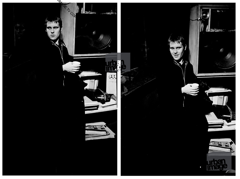 Dave Wakelin in the studio The London Beat - 1981 photosessions with The Beat.