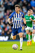 Brighton & Hove Albion midfielder Pascal Groß (13) during the The FA Cup match between Brighton and Hove Albion and Sheffield Wednesday at the American Express Community Stadium, Brighton and Hove, England on 4 January 2020.