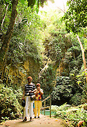OCHO RIOS, ST. ANN : February 14, 2007 -- JAMAICA: DAY 1: OCHO RIOS --  Cassie and Carmen in Ocho Rios. Cousins and family in Ocho Rios, Jamaica February 14....Steve McKinley Photo.