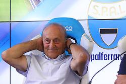 FRANCESCO COLOMBARINI<br /> CONFERENZA DISSEQUESTRO STADIO PAOLO MAZZA DOPO LE VERIFICHE