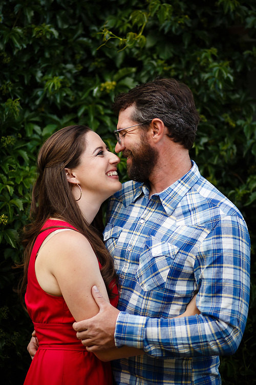 Mallory Bernstein and Daniel Feely celebrate their engagement in Georgetown, Tuesday, July 18, 2017. Photo by Justin Edmonds