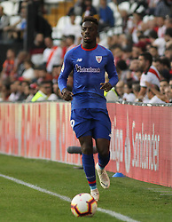 October 24, 2018 - Madrid, Madrid, SPAIN - Williams of Athletic de Bilbao in action during the spanish league, La Liga, football match between Rayo Vallecano and Athletic de Bilbao on October 24, 2018 at Estadio de Vallecas in Madrid, Spain. (Credit Image: © AFP7 via ZUMA Wire)