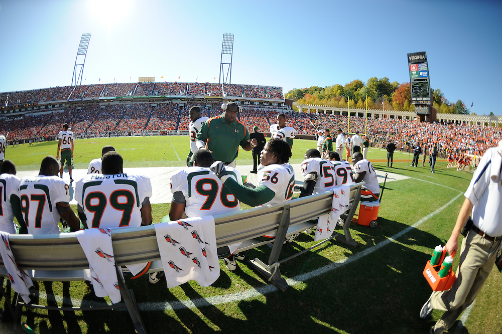 2008 Miami Hurricanes Football @ Virginia