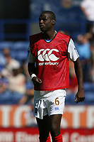 Photo: Pete Lorence.<br />Leicester City v Portsmouth. Pre Season Friendly. 04/08/2007.<br />Djimi Traore during the match.