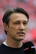 FcBayern coach Niko KOVAC, Bayern Munich's Croatian headcoach, Trainer, <br /> MUNICH, 18. MAY 2019,  Fc BAYERN vs Eintracht FRANKFURT, 5:1 - Bundesliga Football Match, <br /> FcBayern Muenchen vs Eintracht FRANKFURT Bundesliga match at Allianz Arena on 18.05.2019, DFL REGULATIONS PROHIBIT ANY USE OF PHOTOGRAPHS AS IMAGE SEQUENCES AND/OR QUASI-VIDEO - fee liable image, <br /> copyright &copy; ATP / Arthur THILL