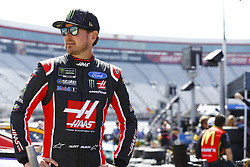 April 13, 2018 - Bristol, Tennessee, United States of America - April 13, 2018 - Bristol, Tennessee, USA: Kurt Busch (41) hangs out in the garage during practice for the Food City 500 at Bristol Motor Speedway in Bristol, Tennessee. (Credit Image: © Chris Owens Asp Inc/ASP via ZUMA Wire)