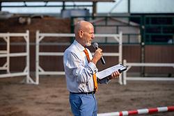 Jury, Hoefs Toine<br /> Stamboek keuring KWPN Turnhout 2020<br /> Jury, Hoefs Toine<br /> 18/07/2020