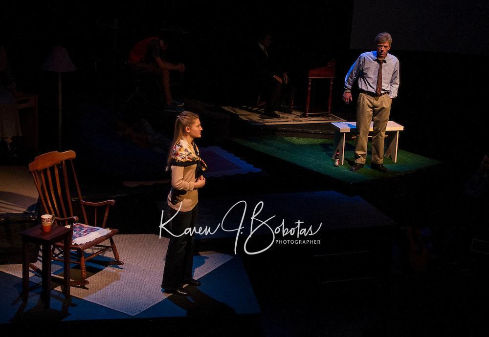 """The """"Reprogramming of Jeremy"""" dress rehearsal at St Paul's School.  ©2014 Karen Bobotas/for St Paul's School"""