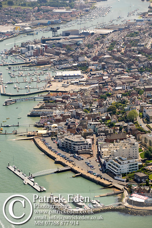 Aerial, Harbour, River Medina, Marina, Royal Yacht Squadron, Cowes, Isle of Wight, UK Photographs of the Isle of Wight by photographer Patrick Eden photography photograph canvas canvases