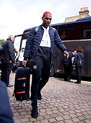 LONDON, ENGLAND - Sunday, March 17, 2019: Fulham's Ryan Babel arrives before the FA Premier League match between Fulham FC and Liverpool FC at Craven Cottage. (Pic by David Rawcliffe/Propaganda)