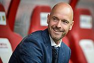 21-08-2016: Voetbal: FC Utrecht v AZ: Utrecht<br /> <br /> (L-R) FC Utrecht trainer Erik ten Hag tijdens het Eredivsie duel tussen FC Utrecht en AZ Alkmaar in stadion Galgenwaard te Utrecht op 21 augustus tijdens speelronde 3<br /> <br /> Eredivisie - Seizoen 2016 / 2017<br /> <br /> Foto: Gertjan Kooij