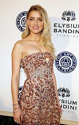 Amber Heard at the Art of Elysium Celebrating the 10th Anniversary held at the Red Studios in Los Angeles, USA on January 7, 2017.