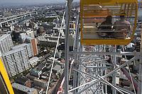 Pariserhjulet i Osaka, the ferris weel in Osaka