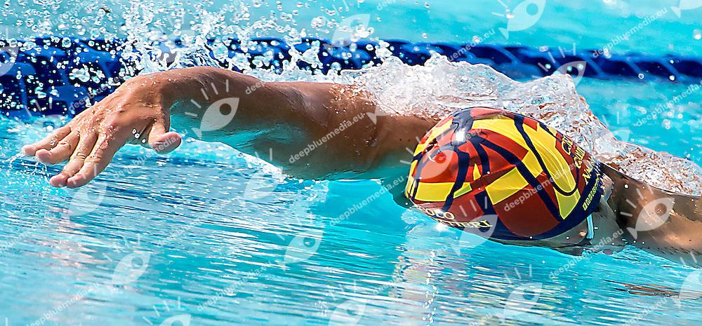 Andrea Manzi Circolo Canottieri Napoli<br /> 1500 freestyle stile libero uomini men<br /> day 01 12/06/2015    batterie heats<br /> 52 Trofeo Settecolli Clear Internazionali d'Italia<br /> Roma Italy 12-14 giugno 2015 <br /> Photo Pasquale Mesiano/Deepbluemedia/Insidefoto