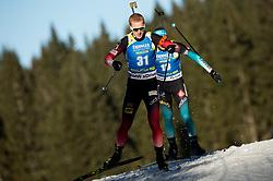 Johannes  Thingnes Boe (NOR) in action during the Men 10km Sprint at day 6 of IBU Biathlon World Cup 2018/19 Pokljuka, on December 7, 2018 in Rudno polje, Pokljuka, Pokljuka, Slovenia. Photo by Vid Ponikvar / Sportida