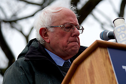 Bernie Sanders (I-VT) kicks-off his campaign for the 2020 U.S. Presidential Elections on a Democratic ticket at a rally at Brooklyn Collage, in Brooklyn, NY on March 2, 2019.