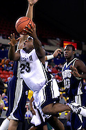 26 November 2005:  Monmouth junior forward, Marques Alston (23) goes for two in the Monmouth University 54-62 loss to Oral Roberts University at the Great Alaska Shootout in Anchorage, Alaska