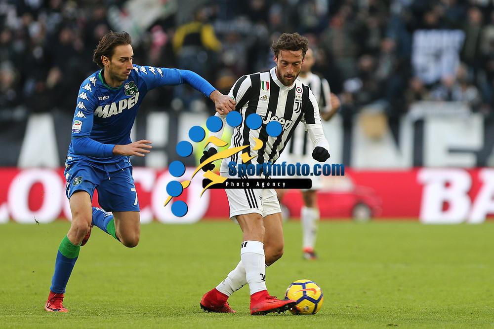 04.02.2018 - Torino - Serie A 2017/18 - 23a giornata  -  Juventus-Sassuolo nella  foto: Claudio Marchisio