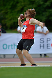04/08/2017; Plou Torres, David, F13, ESP at 2017 World Para Athletics Junior Championships, Nottwil, Switzerland
