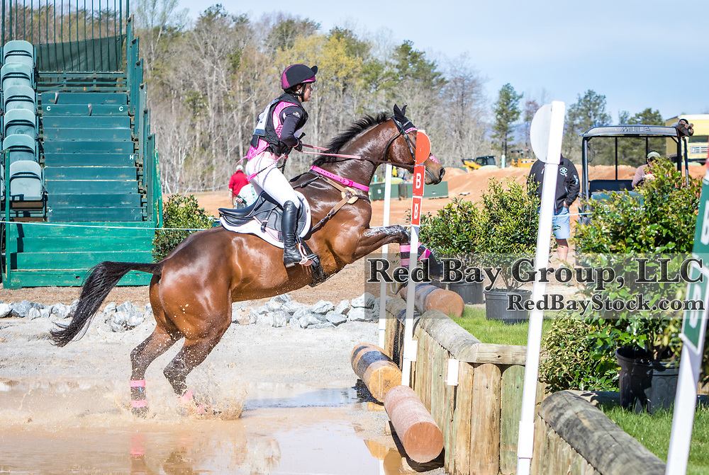 Charlotte Collier and Clifford M at The Fork Horse Trials at the Tryon International Equestrian Center in Millbrook, North Carolina.