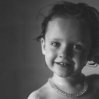 Headshot of young child