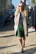 Franca Sozzani at Louis Vuitton SS2015
