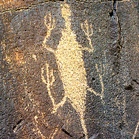 Ancient Americans of the high desert left their art on the rocks.