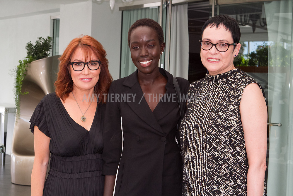 Margaret Nagle,  Kuoth Wiel, and Nancy Harkness