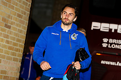 Edward Upson of Bristol Rovers arrives at The Medway Priestfield Stadium prior to kick off - Mandatory by-line: Ryan Hiscott/JMP - 12/03/2019 - FOOTBALL - The Medway Priestfield Stadium - Gillingham, England - Gillingham v Bristol Rovers - Sky Bet League One