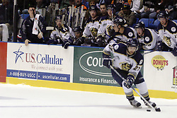 11 November 2006: Jon Booras.&#xD;The Elmira Jackals met the Bloomington PrairieThunder at the U.S. Cellular Coliseum in Bloomington Illinois.<br />