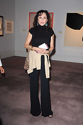 MARIE HELVIN at the Krug Mindshare auction held at Sotheby's, New Bond Street, London on 1st November 2010.