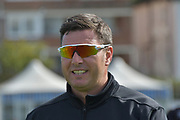 Paul Franks during the Specsavers County Champ Div 2 match between Sussex County Cricket Club and Nottinghamshire County Cricket Club at the 1st Central County Ground, Hove, United Kingdom on 28 September 2017. Photo by Simon Trafford.