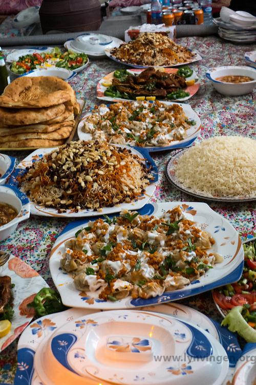 Traditional Afghan food