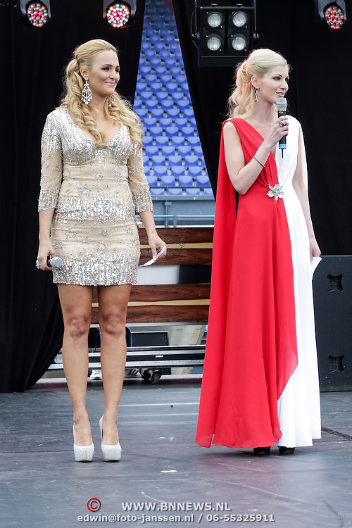 NLD/Rotterdam/20120615 - Verkiezing Miss Zuid-Holland 2012, en Irena Pantelic (Miss Nederland 2001)