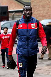 Famara Diedhiou of Bristol City arrives at the City Ground for the Sky Bet Championship fixture against Nottingham Forest - Mandatory by-line: Robbie Stephenson/JMP - 19/01/2019 - FOOTBALL - The City Ground - Nottingham, England - Nottingham Forest v Bristol City - Sky Bet Championship