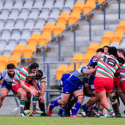 Action during the Jubilee Cup rugby union game played between Northern United v HOBM (Premiers), on 30 June 2018, at Jerry Collins Stadium, Porirua, Wellington, New  Zealand.    Norths won 35-34.