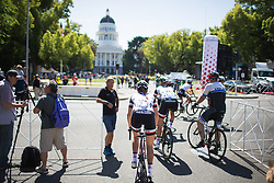 Team Sunweb ride to the start of Stage 3 of the Amgen Tour of California - a 70 km road race, starting and finishing in Sacramento on May 19, 2018, in California, United States. (Photo by Balint Hamvas/Velofocus.com)