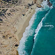One of the many private beaches along the Los Cabos coastline.