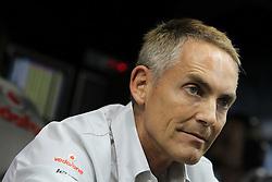 Motorsports / Formula 1: World Championship 2010, GP of Abu Dhabi, Martin Whitmarsh (ENG, Teamchef Vodafone McLaren Mercedes)