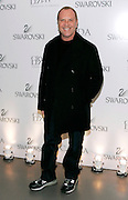Designer Michael Kors poses at the 2008 CFDA Fashion Awards Nominee Announcement in the Rooftop Gardens at Rockefeller Center in New York City, USA on March 10, 2008.