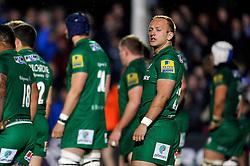 Shane Geraghty of London Irish - Photo mandatory by-line: Patrick Khachfe/JMP - Mobile: 07966 386802 24/04/2015 - SPORT - RUGBY UNION - Bath - The Recreation Ground - Bath Rugby v London Irish - Aviva Premiership