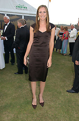 NINA VESTEY at the Cowdray Gold Cup Golden Jubilee Ball held at Cowdray Park Polo Club, on 21st July 2006.<br /><br />NON EXCLUSIVE - WORLD RIGHTS